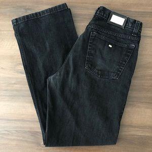 Lacoste Black Straight Leg Jeans